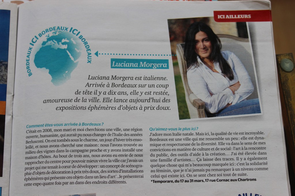 Bordeaux Magazine-Luciana Morgera